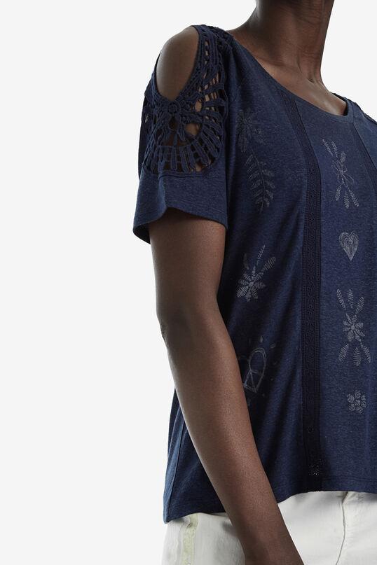 T-shirt crochet manica corta | Desigual