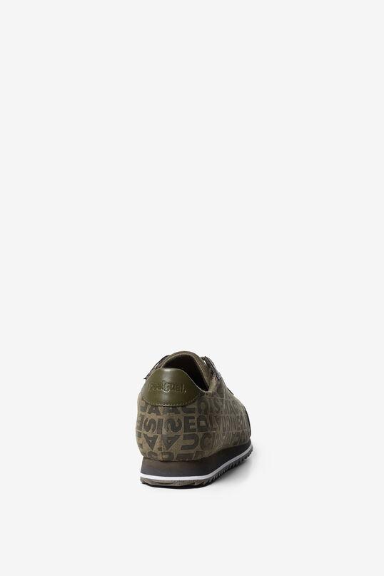 Sneakers logomania caqui | Desigual