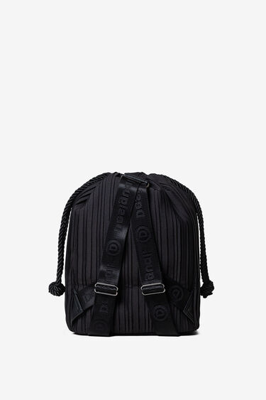 Pleated backpack | Desigual