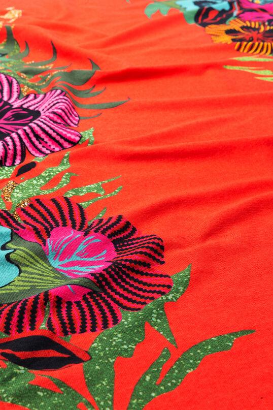 Pareohanddoek met bloemen Tropical | Desigual