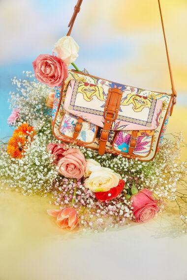 Boho sling bag pockets