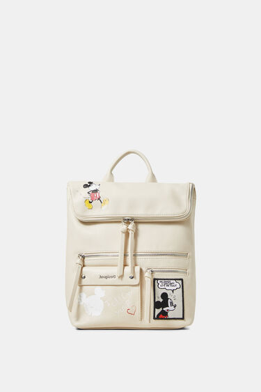Mickey Mouse leather effect backpack | Desigual