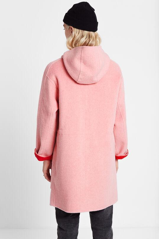 Wollen jas met capuchon   Desigual