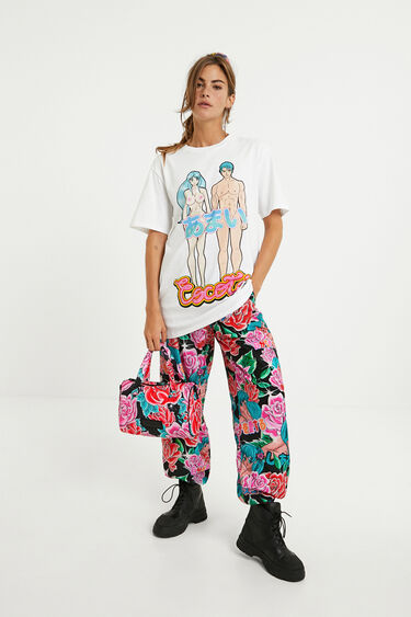 Loose cotton T-shirt | Desigual