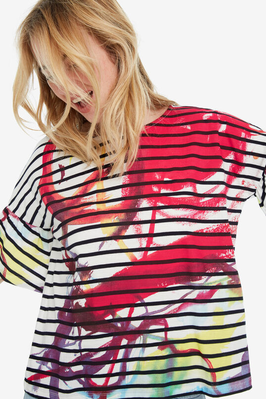 Buntes Streifenshirt Nottingham | Desigual