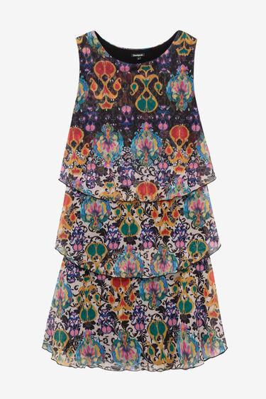 Triple layer print dress | Desigual