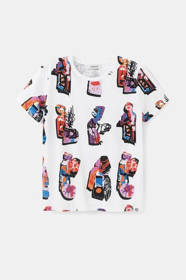 Baggy T-shirt van 100% katoen | Desigual