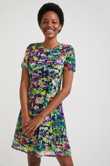 Arty short dress | Desigual