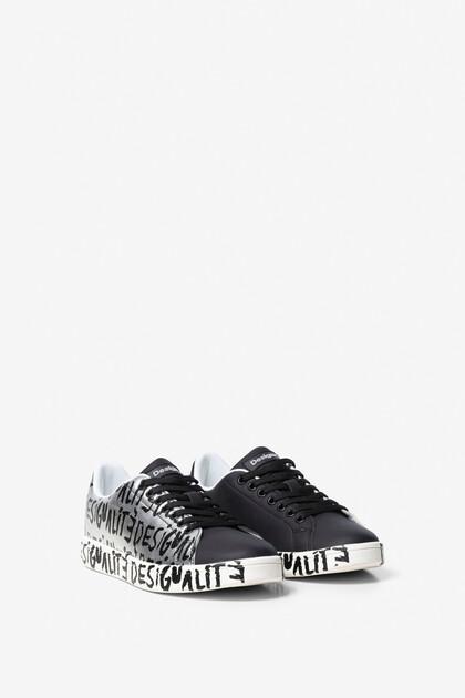 Desigualité Cosmic Lettering  Sneaker