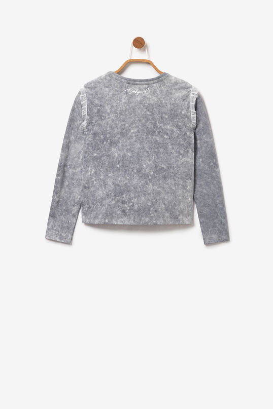 Tulle ruffles T-shirt | Desigual