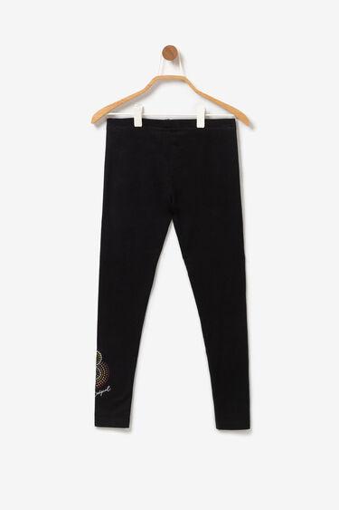 Sequinned mandala leggings | Desigual