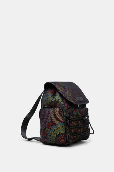 Backpack mesh flowers | Desigual