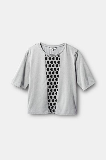 T-shirt slim monogram | Desigual
