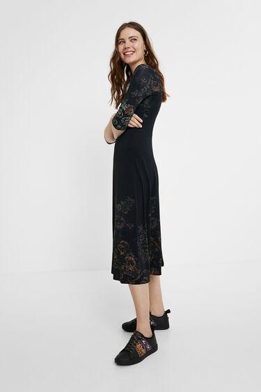 Floral midi-dress | Desigual