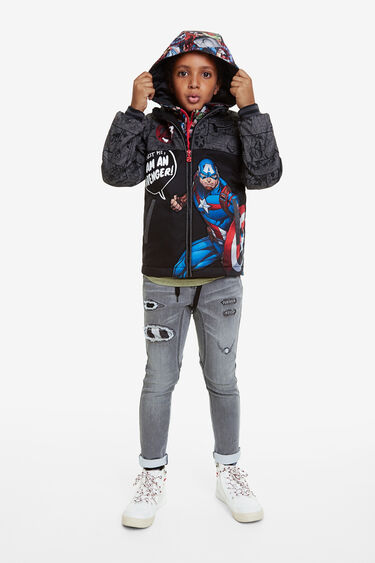 The Avengers hooded jacket | Desigual