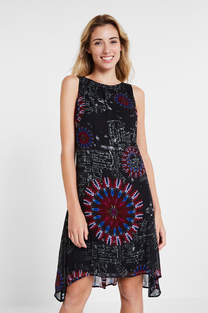 Asymmetric galactic dress