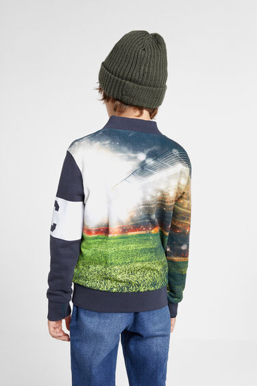 Reversible football sweatshirt | Desigual