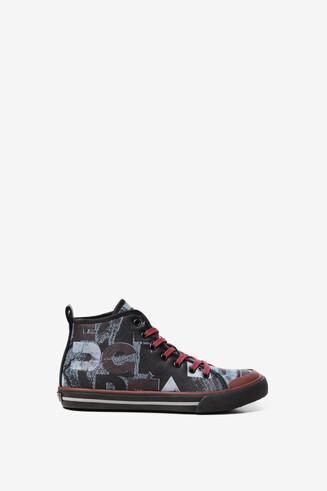 Logomania sneaker rubber sole