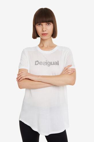 Weißes Sportshirt Essentials tee