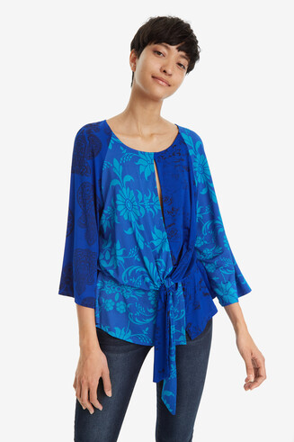 Three-Quarter Sleeve T-shirt Liana