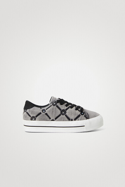 Street sneakers chunky sole