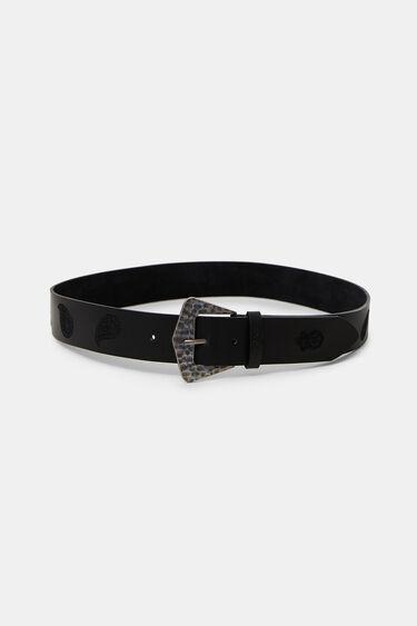 Cintura pelle paisley | Desigual