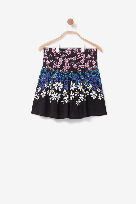 Floral miniskirt reversible sequins   Desigual