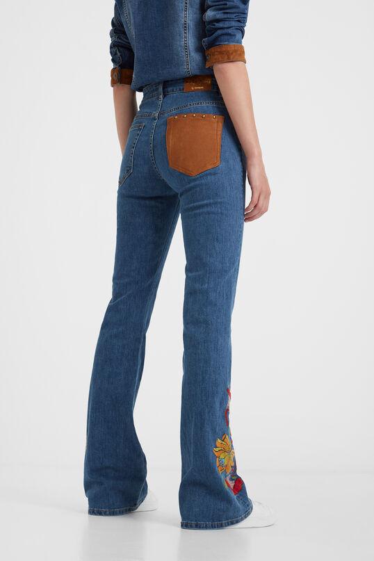 Boho flare trousers | Desigual