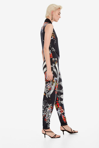 Long Jumpsuit Jungla en la ciudad Designed by M. Christian Lacroix