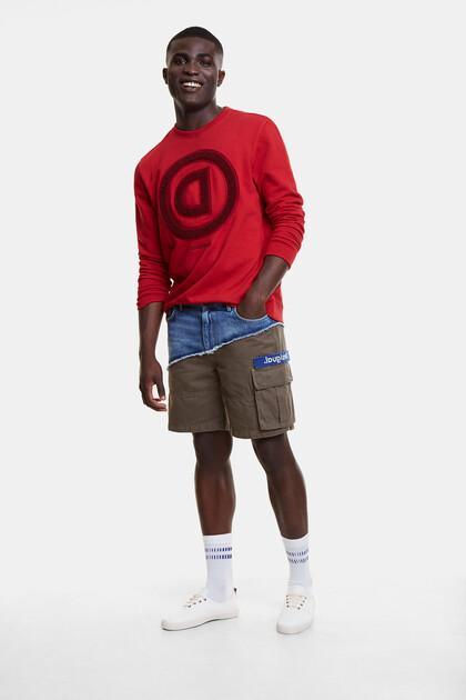 Pantalon hybride jean et cargo
