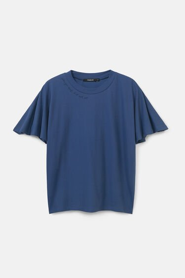 Oversized T-shirt met vleermuismouwen | Desigual