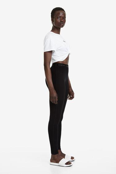 Legging long taille élastique | Desigual