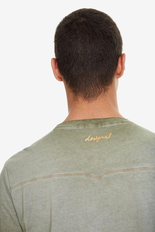 Faded Green Shirt Enrique   Desigual