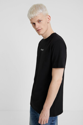 New logo T-shirt in 100% cotton
