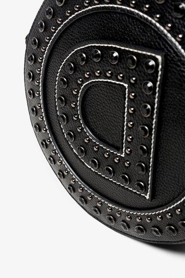 Bossa rodona logotip i tatxes | Desigual