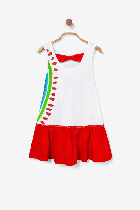 Korte jurk met lage taille Corazon | Desigual