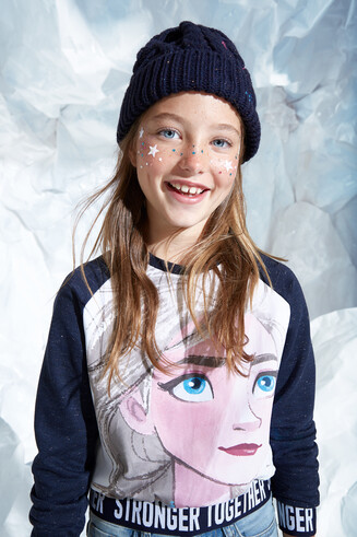 Sweat-shirt Elsa '' Frozen II '' .