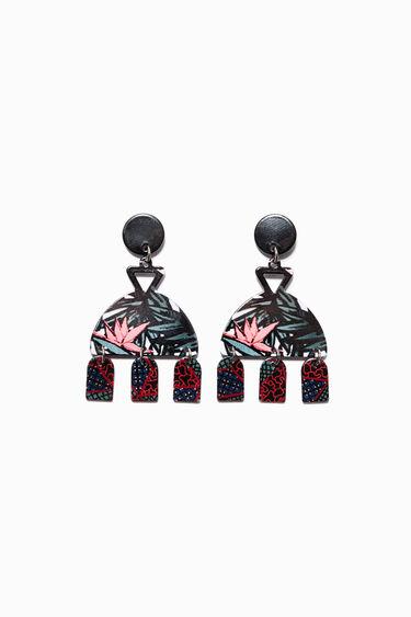 Inca Pompon  Necklace   Desigual