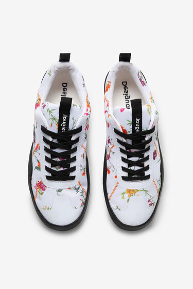 Floral sports sneakers | Desigual