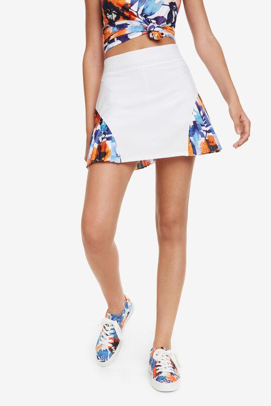 Tennis Skirt Camo Flower | Desigual