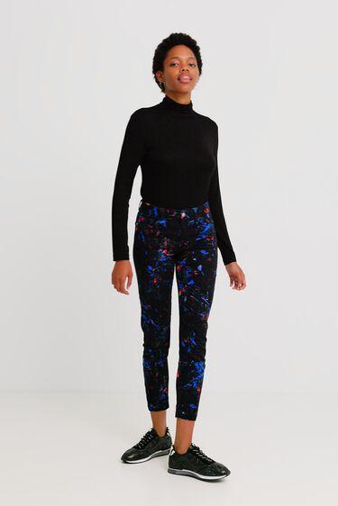 Skinny Pants Kleckse | Desigual