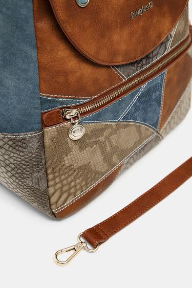 Sac à dos-sac patchs et jean | Desigual