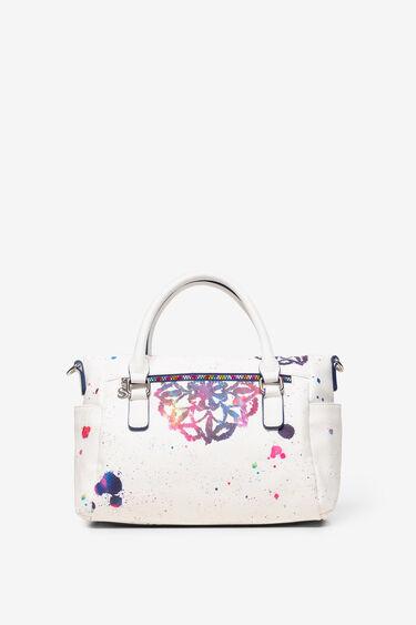 Weiße Tasche mit Mandalas Loverty | Desigual