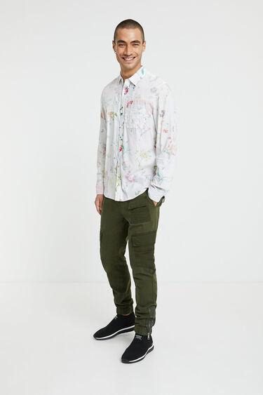 Floral shirt 100% cotton | Desigual