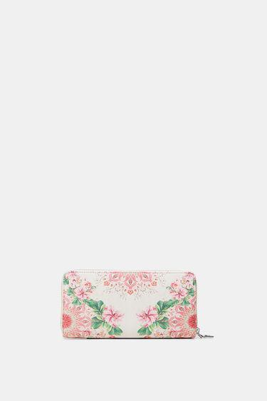 Längliches Portemonnaie Blumen | Desigual