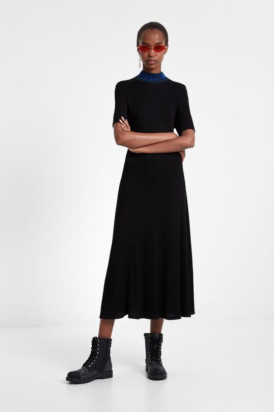 Vestito chemisier in maglia | Desigual