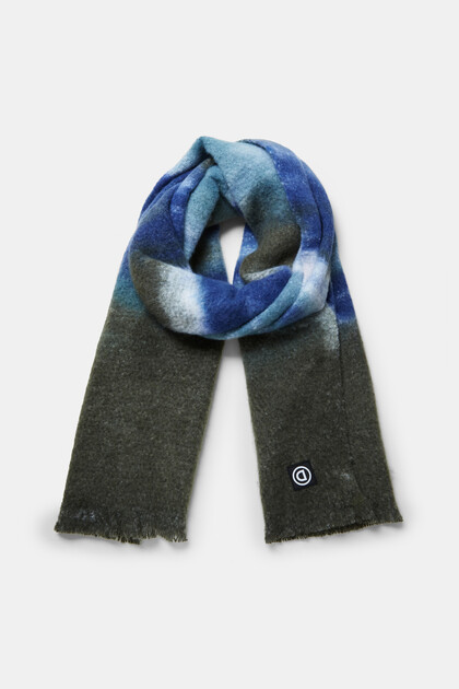 Degradé stains scarf