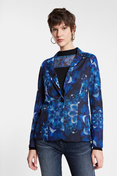 Blazer mandalas tie-dye print | Desigual