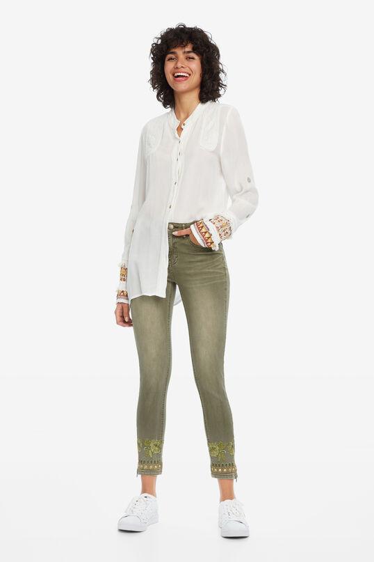 Etnische skinny jeans | Desigual
