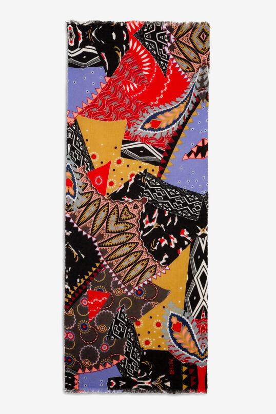 Bufanda rectangular arty | Desigual